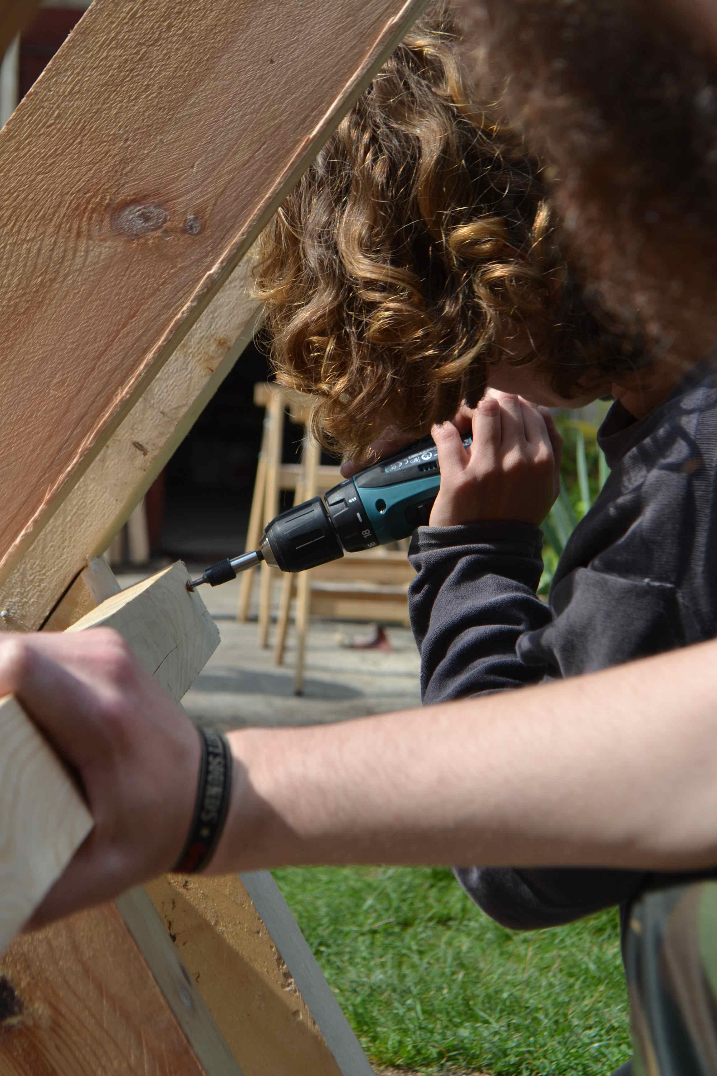 Holzsägebock_bauen